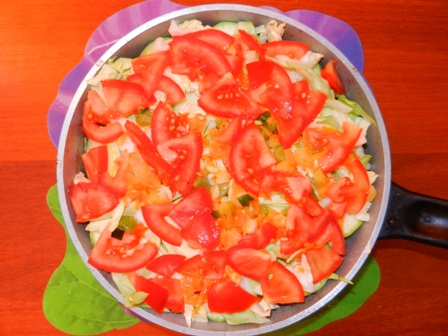 Хит летнего сезона - овощное рагу!