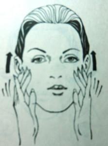массаж лица дома
