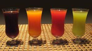 Витаминные напитки из фруктов и овощей